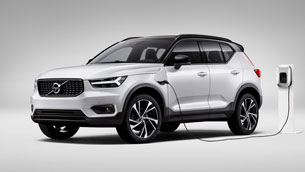 volvo extends electrification of xc40 range with second plug-in hybrid powertrain option