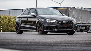 Audi RS 3 limousine on Barracuda Ultralight Project 3.0