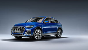 SUV substance with even more style – the new Audi Q5 Sportback