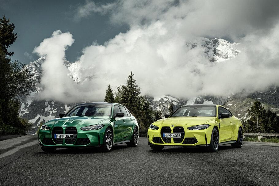 2021 BMW M3 Sedan and 2021 BMW M4 Coupé1