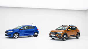 The all-new Dacia Sandero and Sandero Stepway