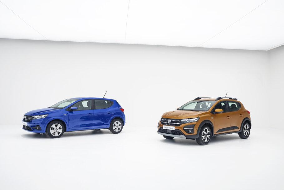 2021 Dacia Sandero and Sandero Stepway1