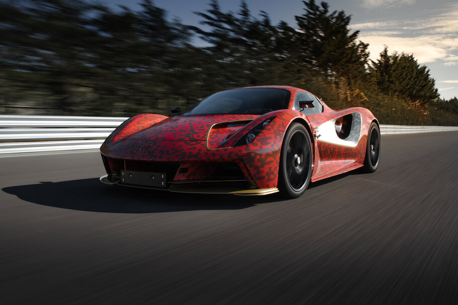 2021 Lotus Evija development car1