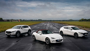 first mazda 100th anniversary special edition series cars arrive in the uk