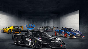 McLaren Senna GTR lm: five unique, extraordinary cars inspired by the McLaren f1 GTRs that dominated the 1995 24 hours of le mans