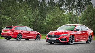 Fast four-ward: UK prices and specifications announced for fourth-generation Octavia vRS