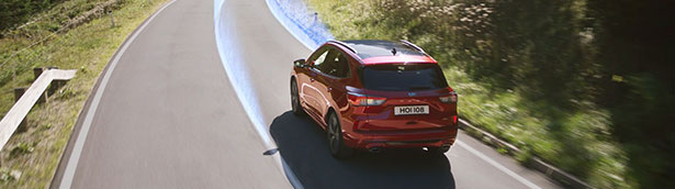 New Ford Kuga SUV steers ahead of the pack in first-ever assisted driving ranking from euro NCAP
