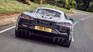 McLaren's all-new high-performance hybrid supercar enters final stages of testing