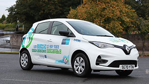 south lanarkshire council supports low-carbon travel with order of 141 all-electric new renault zoes