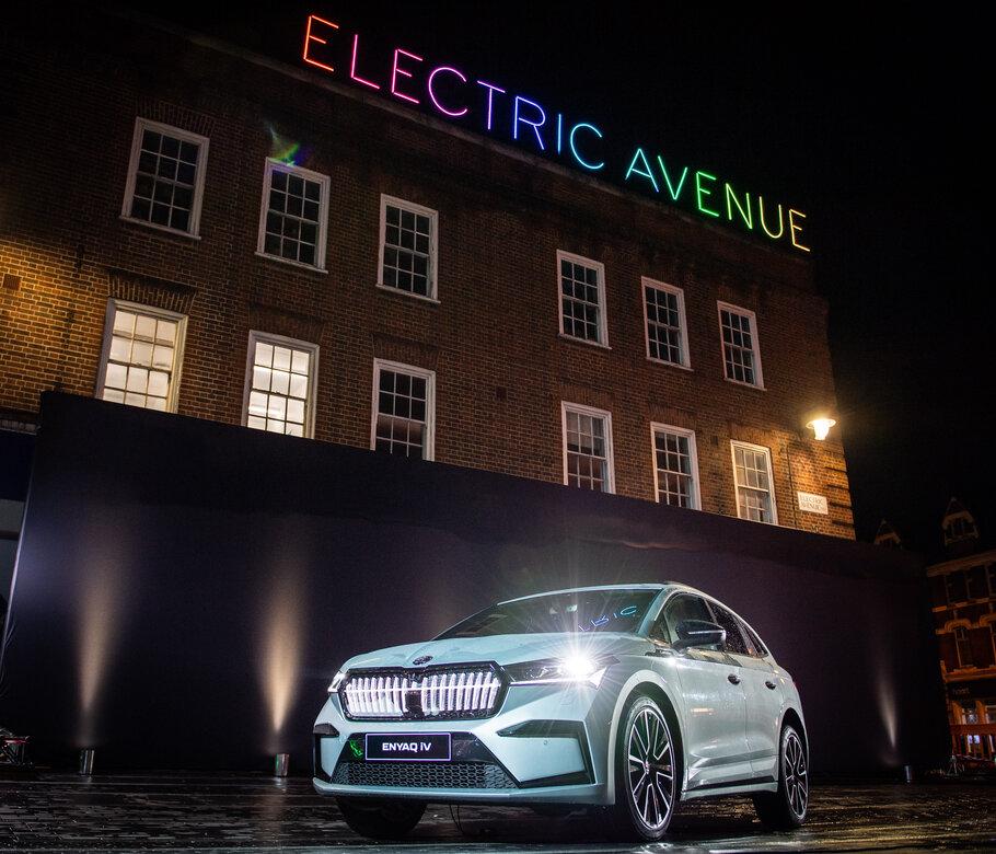 SKODA - ENYAQ iV AT ELECTRIC AVENUE, London, 5th October 2020