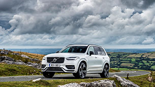 Volvo xc90 recharge plug-in hybrid wins large SUV of the year title in the news UK motor awards