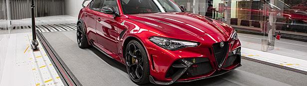 Giulia GTA put through paces by Alfa Romeo racing Orlen f1 drivers