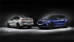 high performance, maximum exclusivity: the first edition variants of the bmw x5 m competition and bmw x6 m competition