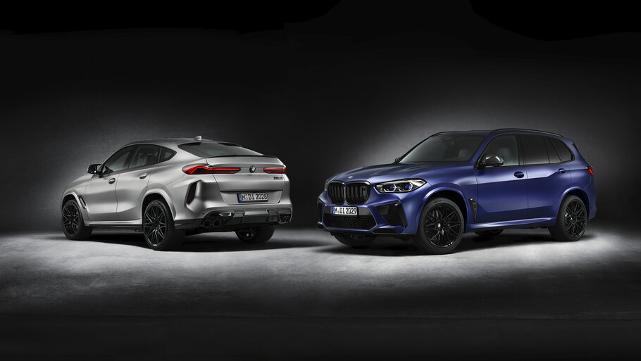 2021 BMW X5 M and BMW X6 M1