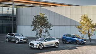 New Jaguar e-Pace: dynamic, electrified, connected