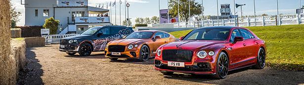 A performance-focused showcase of Bentleys for Goodwood Speedweek