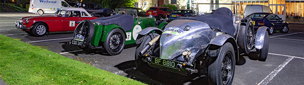 1929 Chrysler storms to victory in the UK's first post-lockdown classic car rally