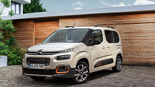 Citroen Berlingo named 'best large car' in autocar 'Britain's best cars awards' 2020