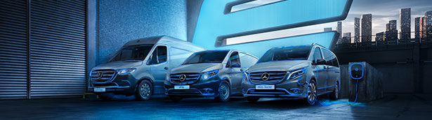 Mercedes-Benz vans debuts two 'firsts' – a fully electric van tv campaign and launch of online showroom
