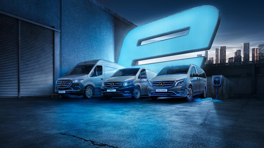 Mercedes-Benz Electric Vans1