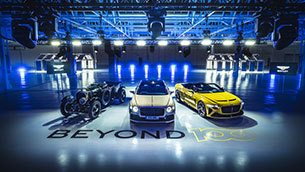 bentley motors outlines beyond100 strategy, targeting sustainable luxury mobility leadership