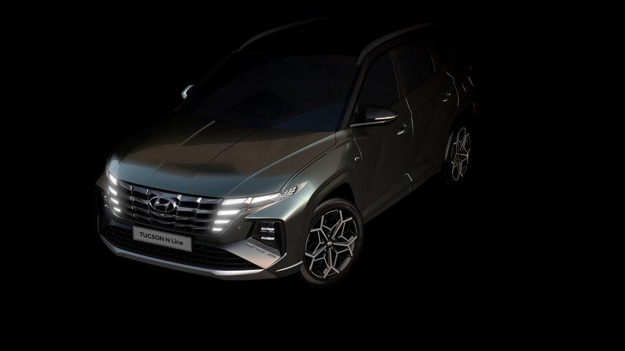 2021 Hyundai Tucson N Line Teaser1