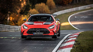 mercedes-amg gt black series is fastest production car on the nurburgring-nordschleife
