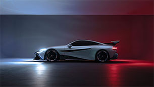 Naran Automotive reveals the Naran - A 1,048HP, four-seater, GT3-inspired hyper-coupé