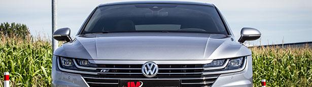 Cor.Speed Sports Wheels Europe Volkswagen on big feet: Cor.Speed DeVille at the Arteon