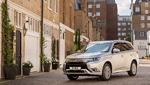 Mitsubishi outlander PHEV: still the UK's best selling plug-in hybrid SUV and one of Europe's Favourites too
