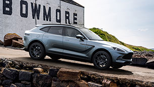 Aston Martin reveals exclusive DBX Bowmore® Edition