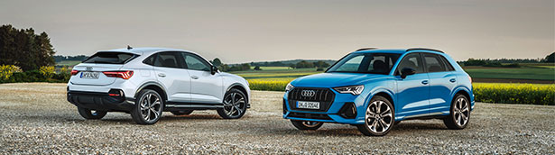Hybrid drive finds another new home at Audi as Q3 SUV joins the TFSI e family