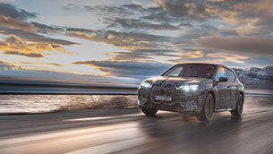 endurance test at the north cape: the bmw ix undergoes final winter testing
