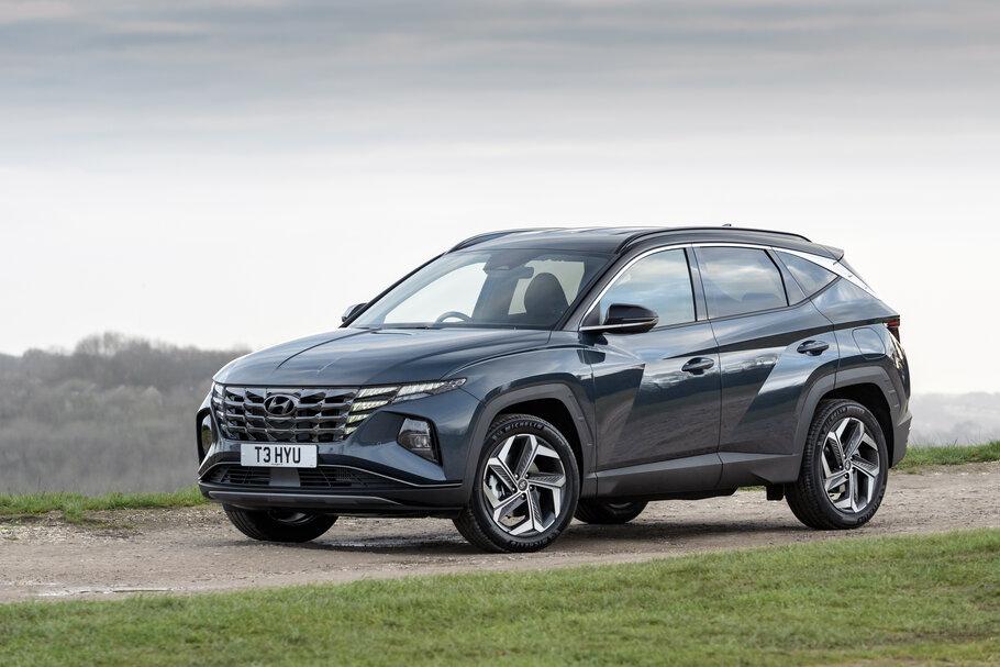 2021 Hyundai Tucson compact SUV1