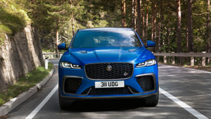 new jaguar f-pace svr: performance suv is faster, more luxurious and more refined than ever