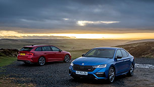 Octavia vRS: ŠKODA's range-topper is a sporty and multifunctional everyday companion