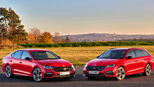 SKODA adds third power option to all-new Octavia vRS range