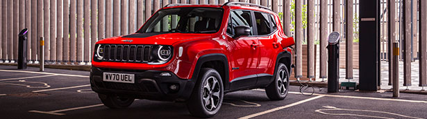 Jeep finds best place to own a plug-in car in the UK