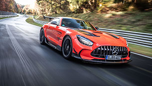 mercedes-amg gt black series crowned 'track weapon of the year' by bbc topgear magazine