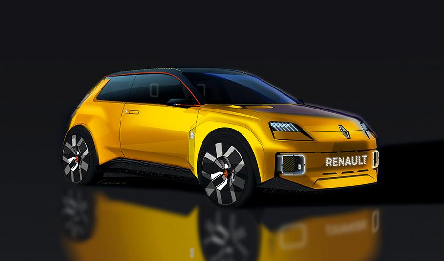 2021 Renault 5 Prototype1