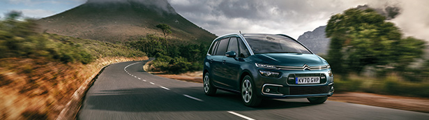 Citroen Grand C4 SpaceTourer PureTech automatic range enjoys CO2 and on the road cost reductions