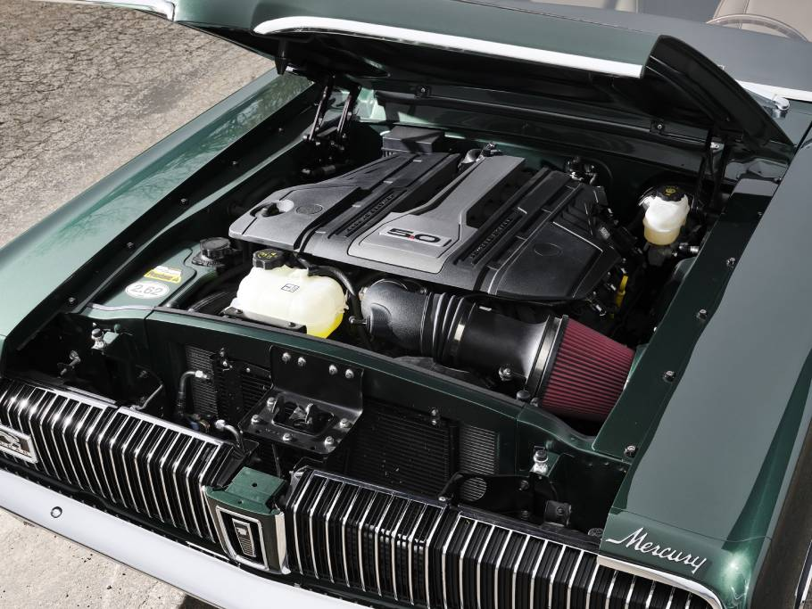 1968-Ringbrothers-Mercury-Cougar-Engine