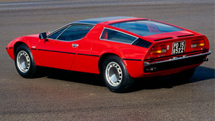The iconic Maserati Bora turns 50. Here's a quick overview