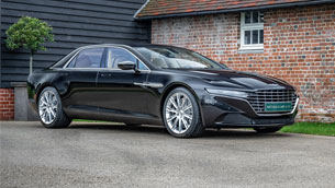 A quick overview of the limited 2016 Aston Martin Lagonda Taraf