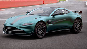 aston martin celebrates returning to f1 with a special model