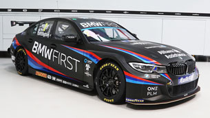 bmw team reveals beautiful new livery