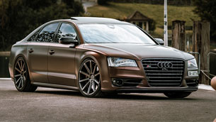 2018 Audi A8 receives exclusive set of Cor.Speed alloys