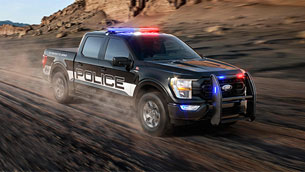 ford reveals new f-150 police responder vehicle