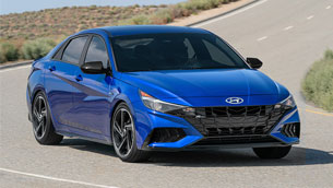 2021 Hyundai Elantra receives a prestigious award
