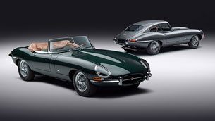 Jaguar Classic showcases the limited E-Type 60 Collection